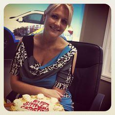 Today was VP Catherine's birthday! Happy birthday Catherine!