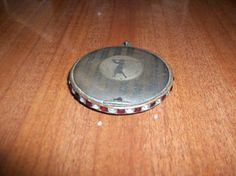 Vintage Golf Compact by MICSJEWELSGALORE on Etsy