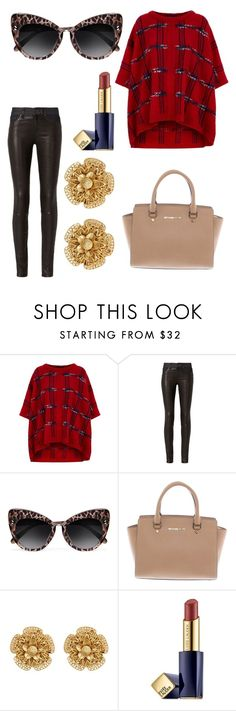 """Untitled #8869"" by ohnadine ❤ liked on Polyvore featuring Boutique Moschino, rag & bone, STELLA McCARTNEY, Michael Kors, Miriam Haskell and Estée Lauder"