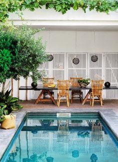 Petites piscines / Small pool / Courtyard / Patio / The Foxtrotter: Des petites piscines qui donnent envie…The Foxtrotter