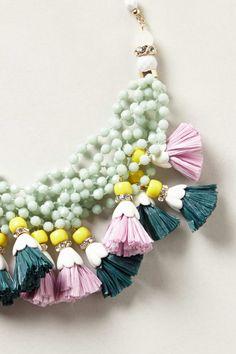 Tasselled Strands Necklace | Anthropologie.eu