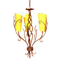 Shop Creative Creations 3-Light Nyree Dark Bronze Chandelier at Lowes.com Creative Creations