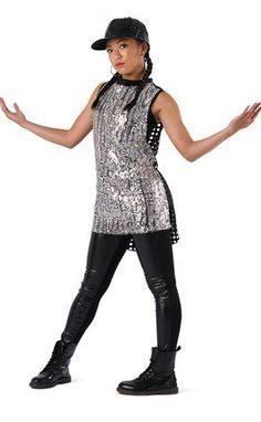 083dea11fd Ombre Sequin Tunic. Hip Hop CostumesPop ...