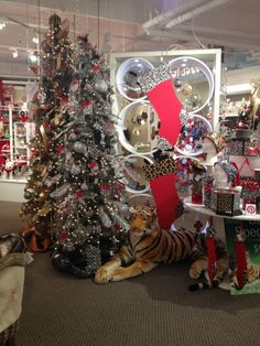 Christmas Display from our Atlanta Showroom at the AmericasMart - Winter 2014! #burtonandburton #christmas