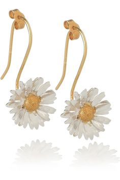 daisy earrings ~ love these!