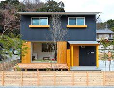 ガルバリウム 色の組み合わせ - Google Search Grey Houses, Shed, Outdoor Structures, House Design, Contemporary, Architecture, Outdoor Decor, Home Decor, Yahoo