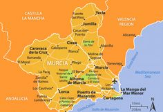 Valencia, Murcia Spain, Torrevieja, Archaeological Site, Travel Maps, Travel Abroad, Map Art, New Mexico, Property For Sale