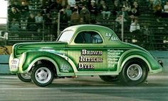 `41 Willys Gasser Gives me the Willys Pinterest Cars