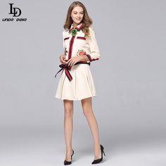Autumn Women Maxi Dress Long Sleeve Floral Printed Party Dresses Vintage Long Dress Check it out! www.sukclothes.co... #shop #beauty #Woman's fashion #Products