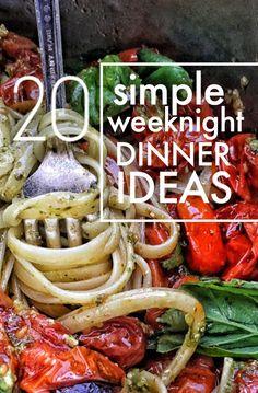 20 Simple Weeknight