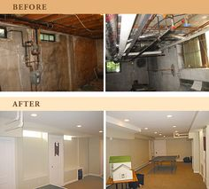 Basement Solutions for Real Life Basement laundry Laundry and