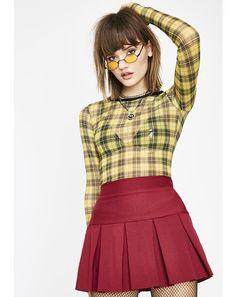 78a0e69606 Lit Wicked Scholar Pleated Mini Skirt Punk Rock Outfits, Punk Rock Fashion,  90s Fashion
