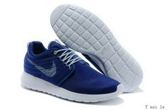 bed297f057525 Buy New Style Nike Rosherun Dyn FW QS Lovers Ultralight Pulling Wire Mesh  Low Deep Blue Gray Rocks Running Shoes Shoes from Reliable New Style Nike  Rosherun ...
