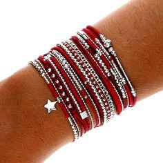 31 Bracelets Ideas - Page 8 of 31 - MyOwnJewelry - Jewelry Designs & Ideas Silver Bracelets For Women, Simple Bracelets, Cute Bracelets, Handmade Bracelets, Sterling Silver Bracelets, Jewelry Bracelets, Handmade Jewelry, Etsy Handmade, Charm Jewelry