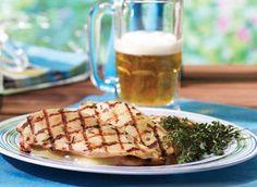 Poitrine de poulet à la bière et au Cheddar vieilli - Recettes | Plaisirs laitiers - Nourrir votre quotidien