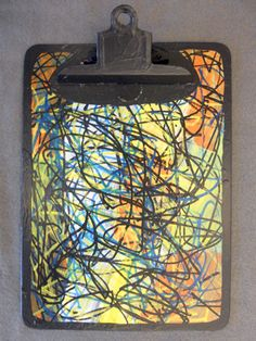 """""""Frenzy""""  By Goodwill Art Studio & Gallery artists, Debbie Price and Jason WIlson"""