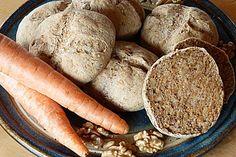 Dinkel - Karotten - Brötchen