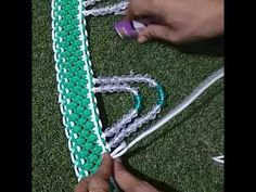 Beautiful macrame and beads toran design (no.6) - YouTube