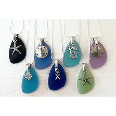 Cute sea glass jewelry