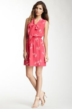 Printed Silk Dress by Champagne & Strawberry on @HauteLook