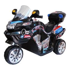 Lil Rider FX 3 Wheel Motorcycle Bike Battery Powered Riding Toy - Black - Have a young one who feels the need for speed? The Lil Rider FX 3 Wheel Battery Powered Bike - Black will be the Best Present Ever! With a 15 Watt motor. 3 Wheel Motorcycle, Kids Motorcycle, Motorcycle Battery, Moto Bike, Toys For Boys, Kids Toys, Biscuit, Power Bike, Power Wheels