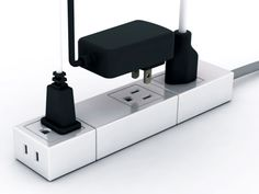 Socket Like Brick allows you to configure and create a modular multi tap as per convenience.