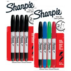 Sharpie Markers FREE at Staples