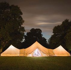 Nice weekend with this glamping tent .