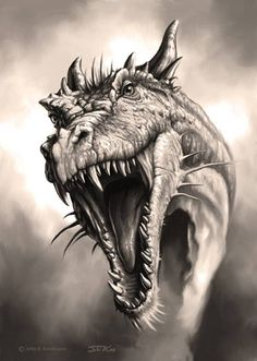 This is not my dragon... just inspiration!