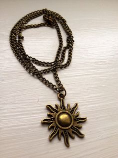 Child of Apollo Necklace by Myseybeads on Etsy