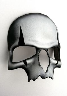 Harlequin Skull Leather Mask by mrhydesleather on Etsy, $48.00