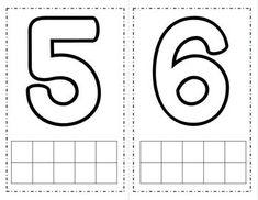 Number Playdough Mats {FREE} by Pocketful of Centers Numbers Kindergarten, Numbers Preschool, Learning Numbers, Learning Letters, Kindergarten Activities, Preschool Activities, Letter Tracing Worksheets, Printable Preschool Worksheets, Tracing Letters
