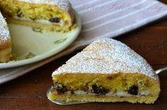 ricetta torta farcita con ricotta e cioccolato | Dolce e Salato di Miky