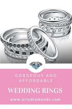 Black diamonds wedding band and diamond wedding rings at Orly Diamonds Cool Wedding Rings, Diamond Wedding Rings, Diamond Bands, Wedding Bands, Black Diamonds, Engagement Rings, Jewelry, Enagement Rings, Wedding Rings
