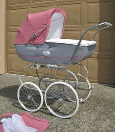 Inglesina Classica Pram Stroller Toddler Seat Balestrino Frame Silvercross Pink