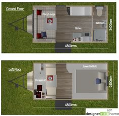 tiny house town independent series 4800dl tiny home - Energy Independent Home Plans
