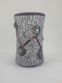 Artist Co-op in Manitou Springs, CO selling Colorado- and Front Range-made art and fine craft items. Clear Glass Vases, Glass Art, History Of Glass, Mosaic Vase, Crackle Glass, Craft Items, Deep Purple, Stained Glass, Grout