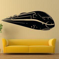 Wall Vinyl Decals Train Steam Locomotive Decal от WisdomDecals
