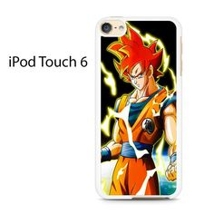Dragon Ball Z Super Saiyan Goku Ipod Touch 6 Case