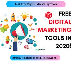 There are lots of free online marketing tools to help you succeed as an online entrepreneur, we've analysed many and recommend these Online Marketing Tools, Email Marketing, Affiliate Marketing, Digital Marketing, Way To Make Money, Make Money Online, Free Market, Online Entrepreneur, Letters