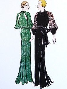 Google Image Result for http://i.ebayimg.com/t/T7363-1930s-Evening-Gown-with-Slashed-Back-Sewing-Pattern-Hollywood-Glamour-/00/s/MTUzMVgxMTYw/%24(KGrHqVHJCUE%2BhnBQ((4BQ,OVwOdcg~~60_35.JPG