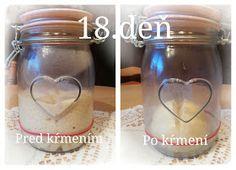 ...svet okolo mňa ...: Príprava kvásku Lievito-Madre Mason Jars, Basket, Mason Jar, Glass Jars, Jars