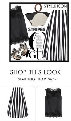 """""""b&w&s"""" by bodangela ❤ liked on Polyvore featuring Alexander Wang, Dolce&Gabbana and The Row"""