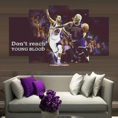 Don t Reach Young Blood - 5 Piece Canvas Painting 571a95e0530