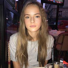 So happy Russia won 🙌🏻🇷🇺⚽️🥅 The Most Beautiful Girl, Beautiful Children, Kristina Pimenova Instagram, Cristina Pimenova, Cute Friend Pictures, Cute Young Girl, Russian Beauty, Light Brown Hair, Young Models