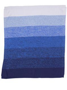 £43.75 Bonnie Baby cotton degraded dip dye blanket 'MOE'