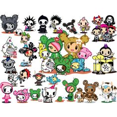 Tokidoki Characters   Everything Fashion Beauty Home Top Sets