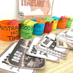 7 Fun Ways to use Timelines in your Classroom - Ridgy Didge Resources Primary School Curriculum, First Fleet, Anzac Cove, Interactive Whiteboard, History Timeline, Australian Curriculum, Coast Australia, Classroom Displays, Egypt