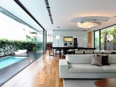 ✓♥ House on Princess of Wales Road by Hyla Architects 3 Open Social Spaces Defining A Modern Family Home
