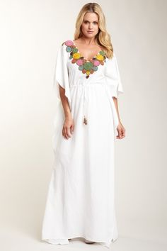 beautiful long cover up... great for outings and poolside